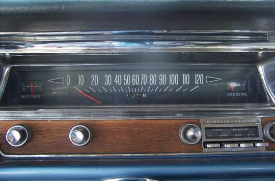pontiac rally gauges identification at pontiac paradise. Black Bedroom Furniture Sets. Home Design Ideas